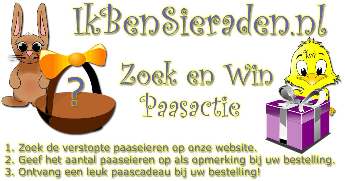 Paasactie: Zoek en win - Zoek de paaseieren voor gratis paascadeau