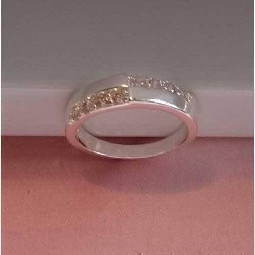 0da1e2c1a5f Band ring met zirkonia kruis
