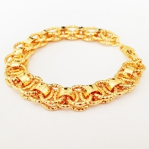 gouden-armband-ringen-gold-plated